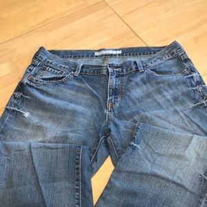 Old Navy relaxed boy friend jeans size 14